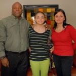 2 Imani Cornelius and parents