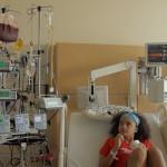 20 Imani Cornelius During Bone Marrow Transplant