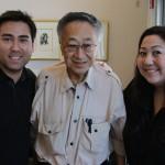 Dr-Paul-Terasaki-with-Jeff-and-Athena